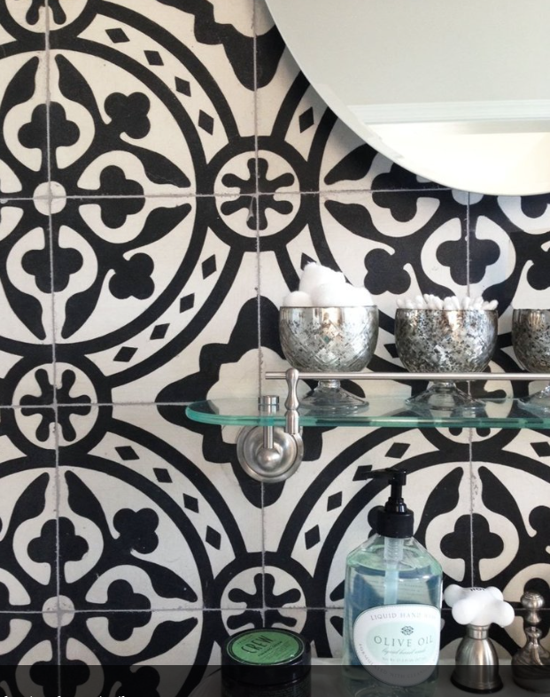 Discounted Black + White Tiles | Kiki's List