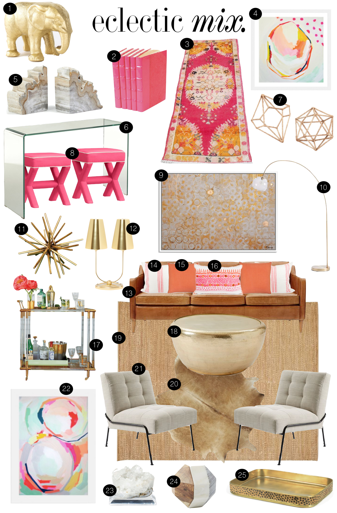 Eclectic  Mix  |  Kiki's List