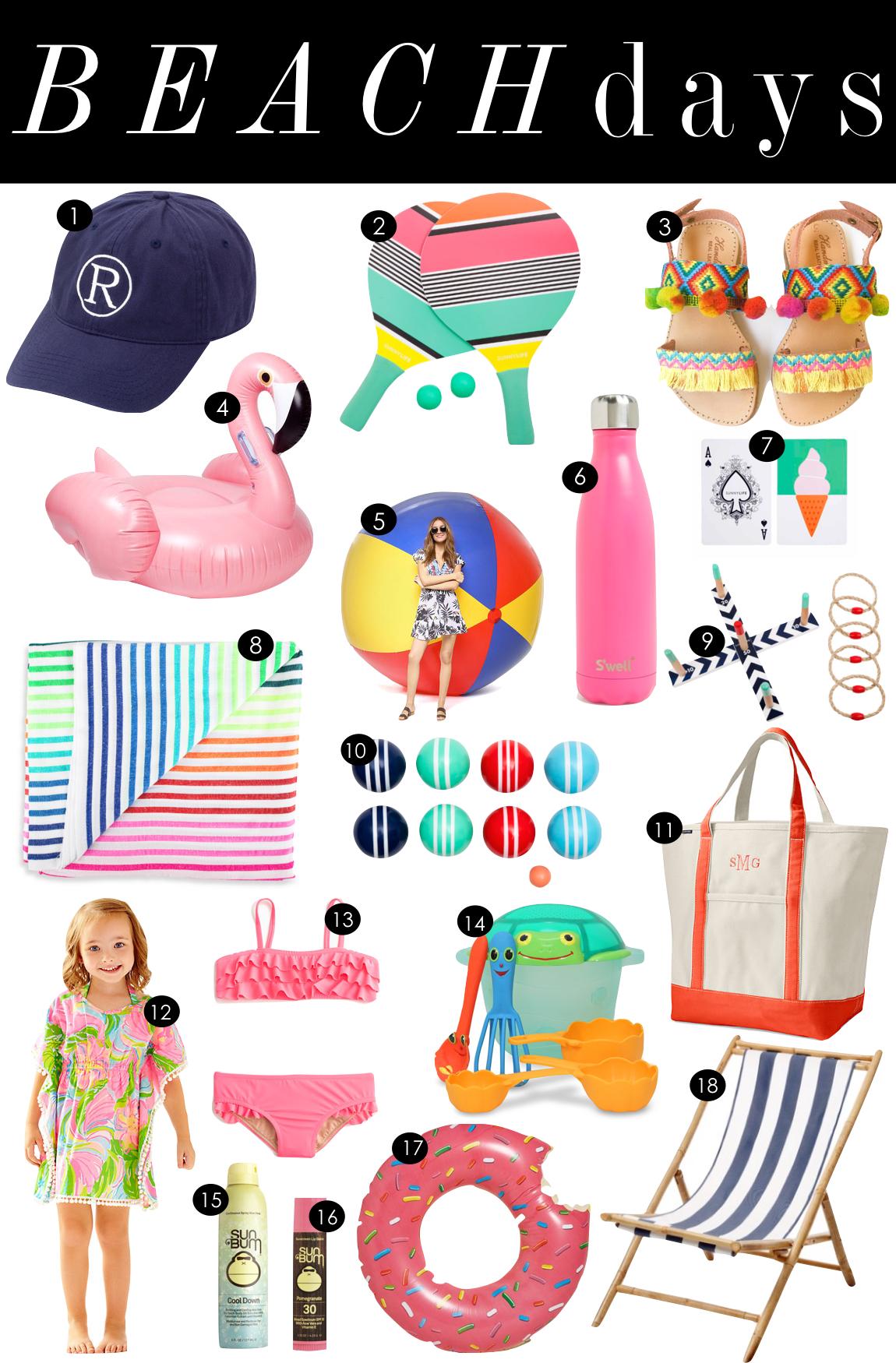 Beach Days | Kiki's List