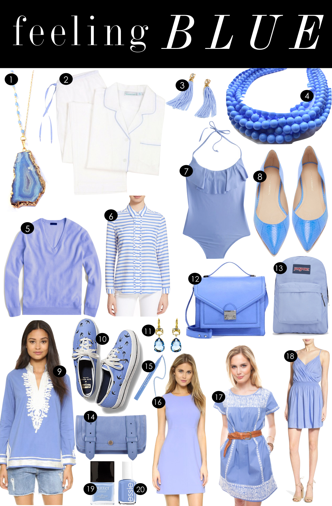 Feeling Blue | Kiki's List