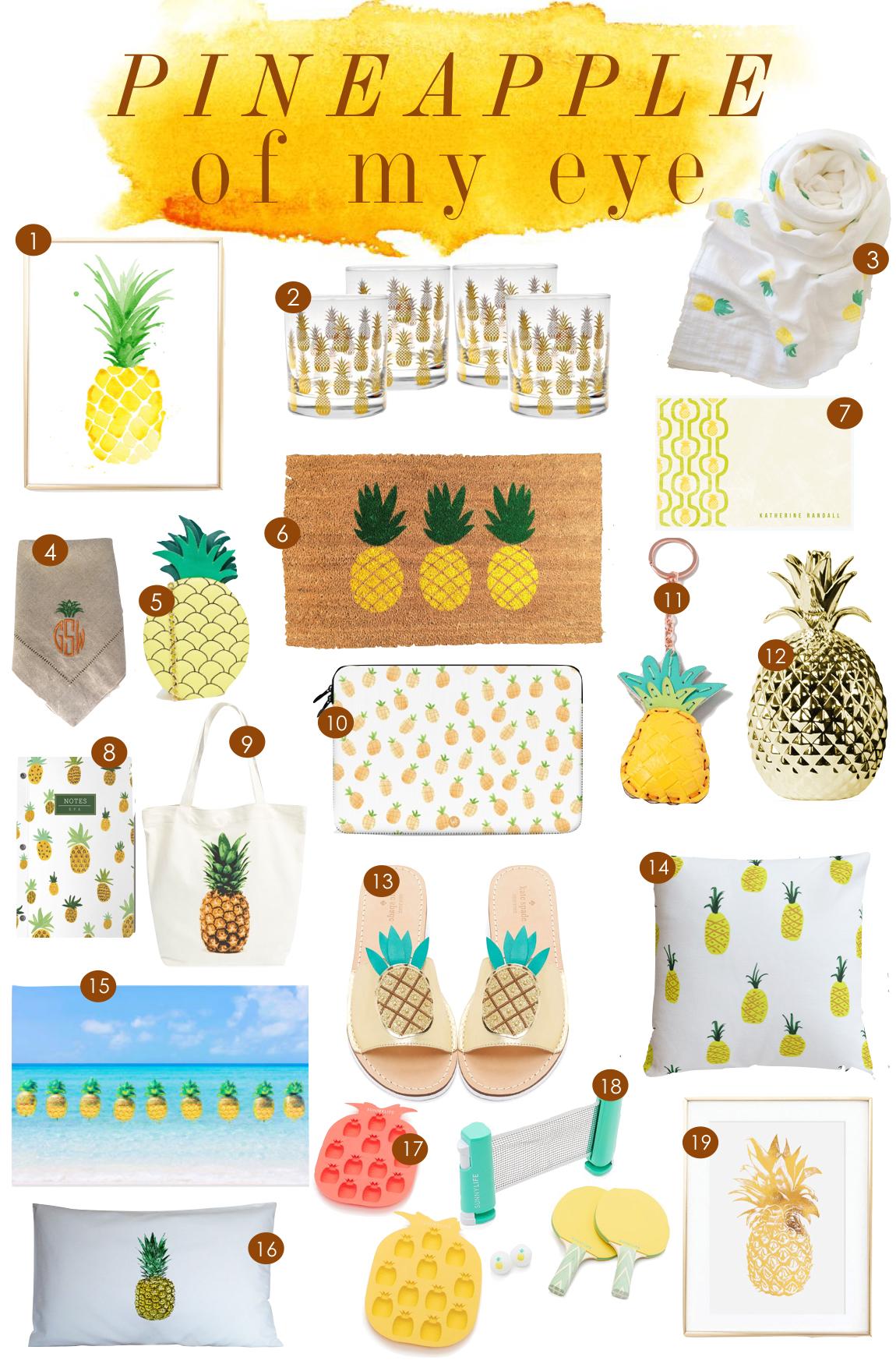 Pineapples  |  Kiki's List