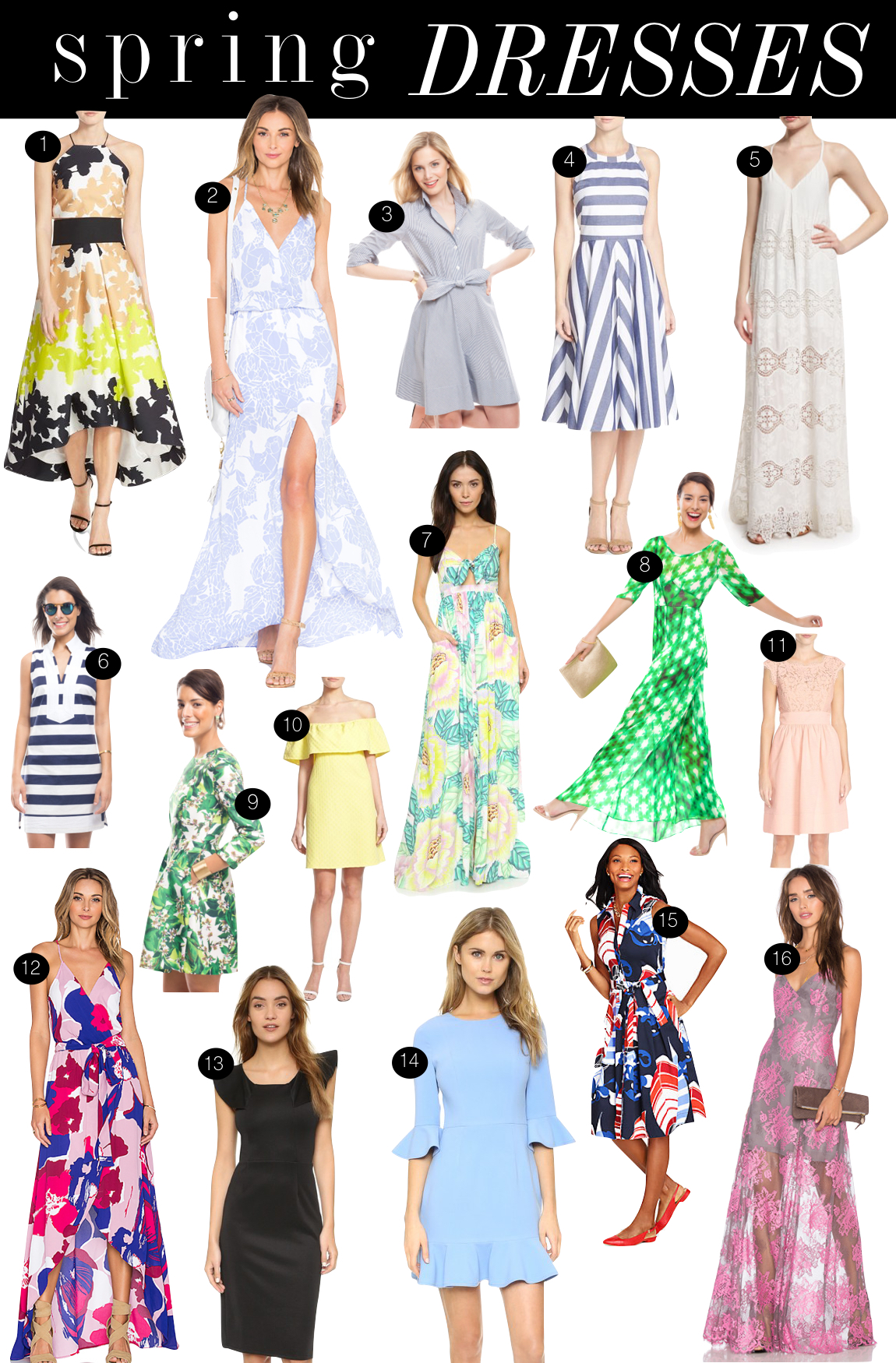 Spring Dresses | Kiki's List