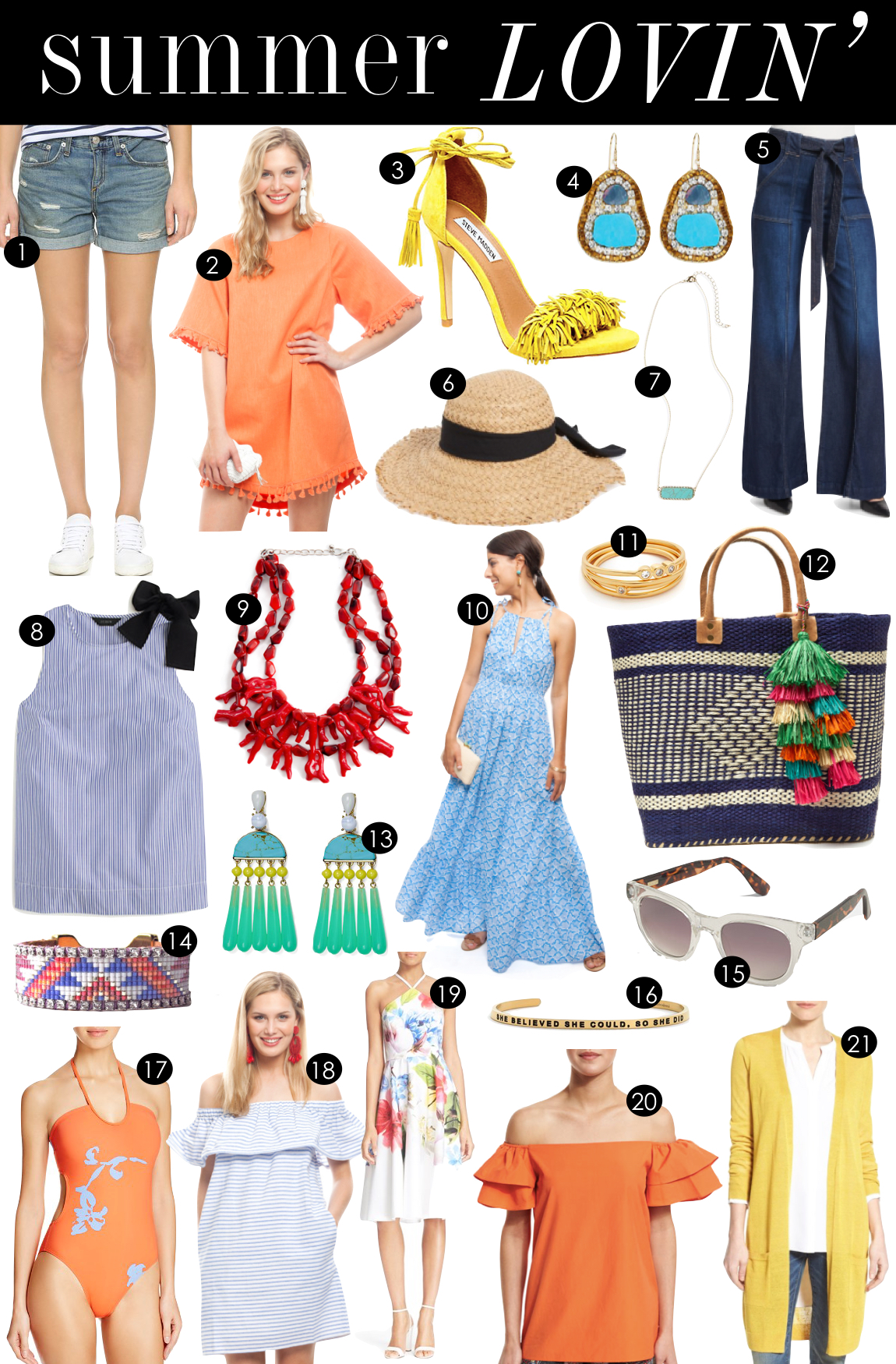 Summer Lovin'  |  Kiki's List