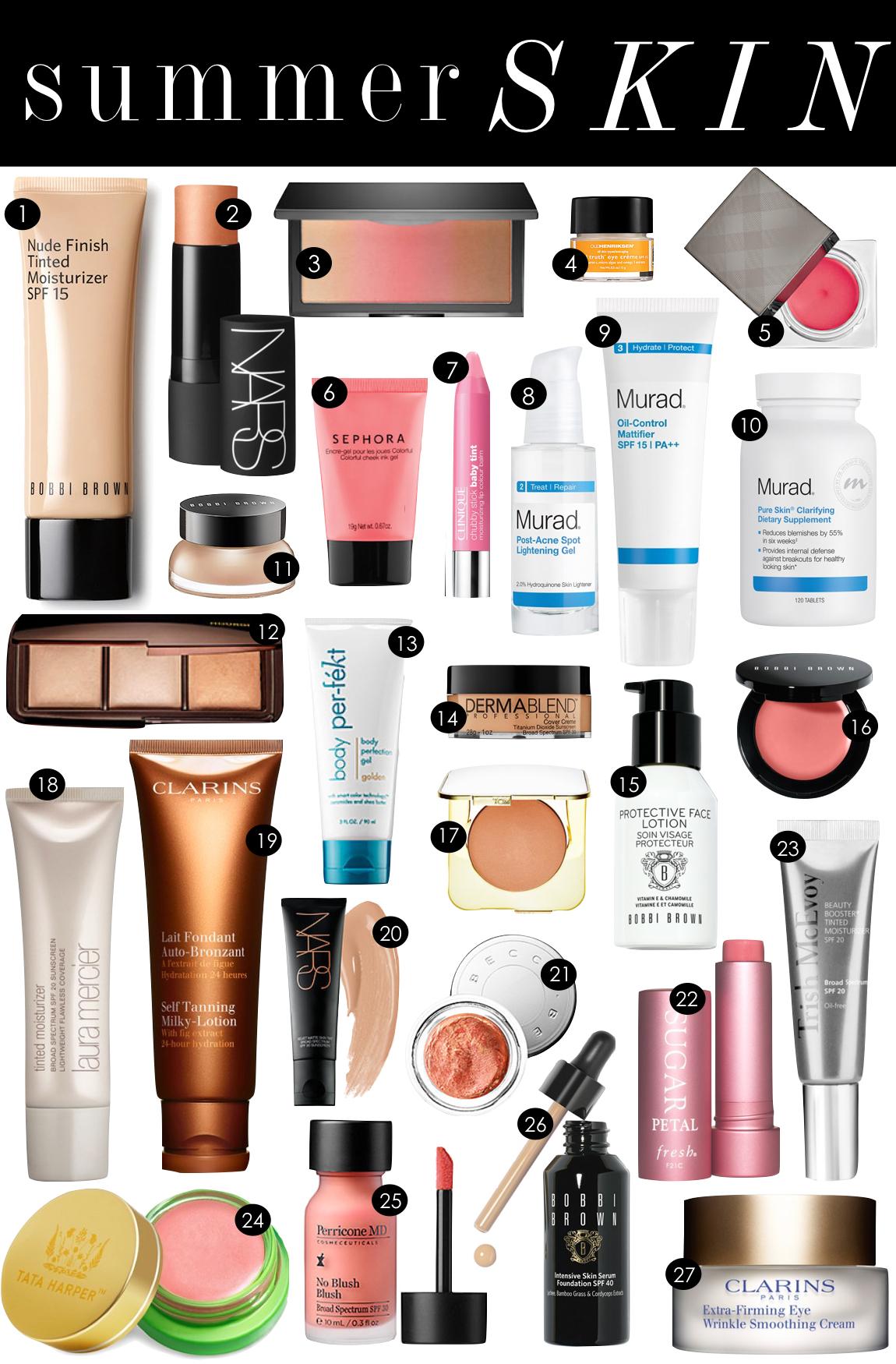 Summer Skin   Kiki's List