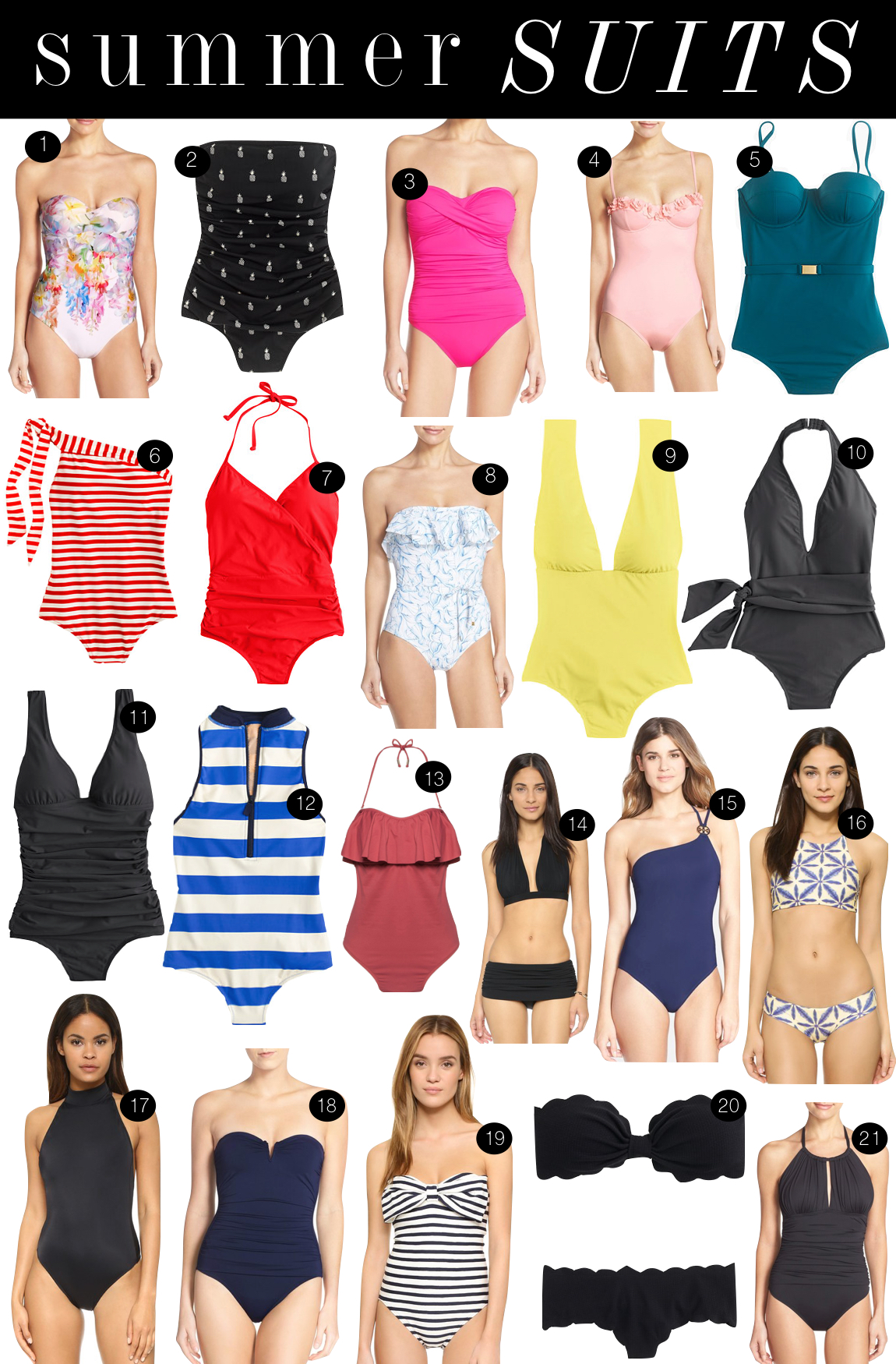 Summer Suits | Kiki's List