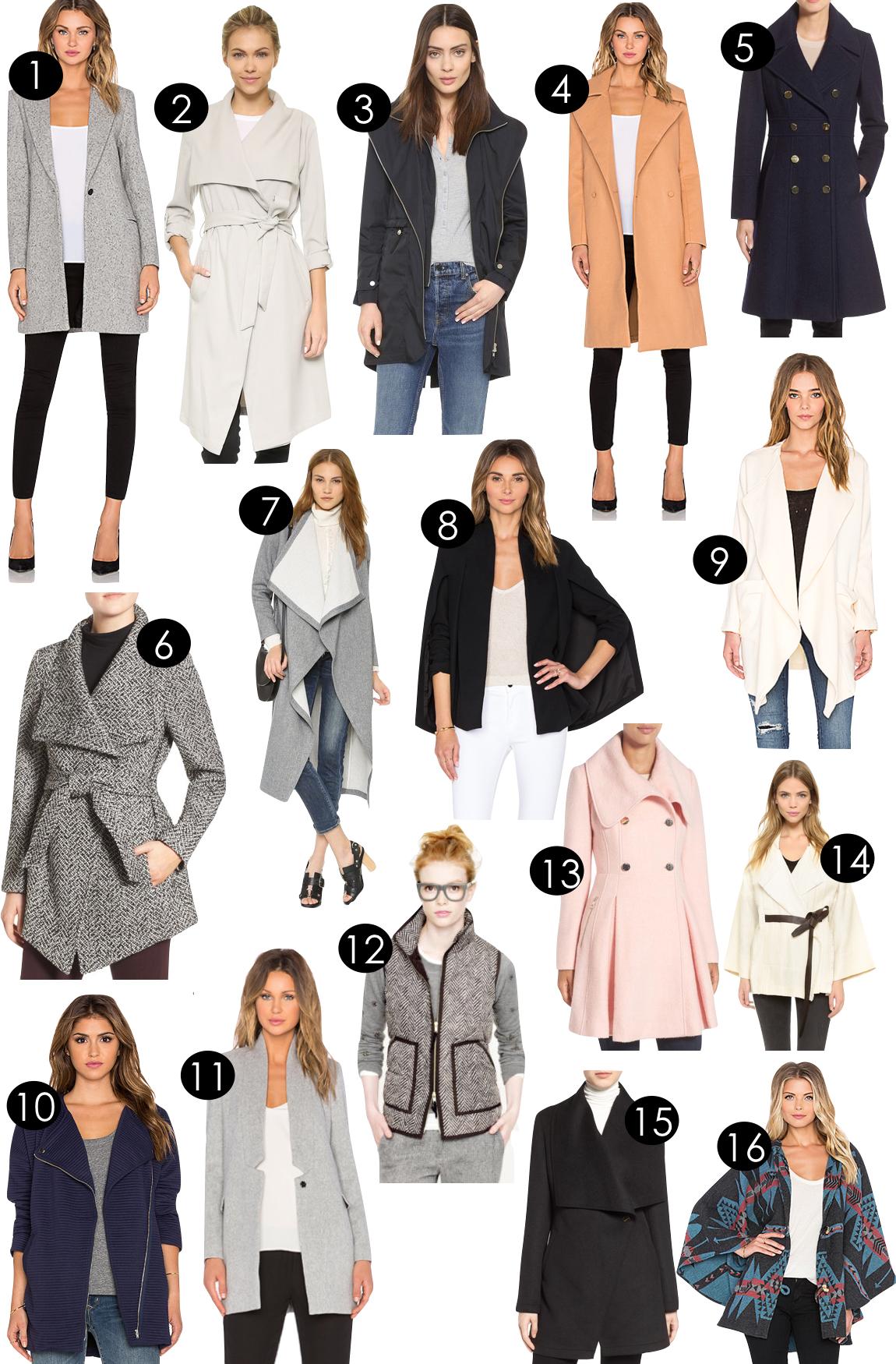 Outerwear on the Cheap | Kiki's List