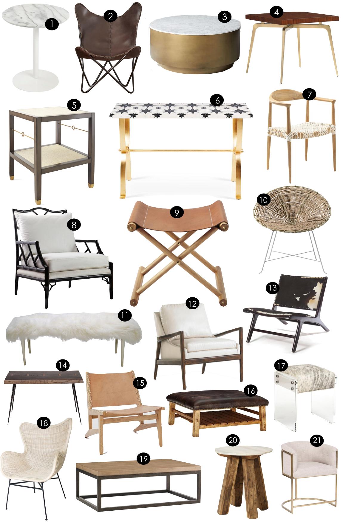 Accent Furniture  |  Kiki's List