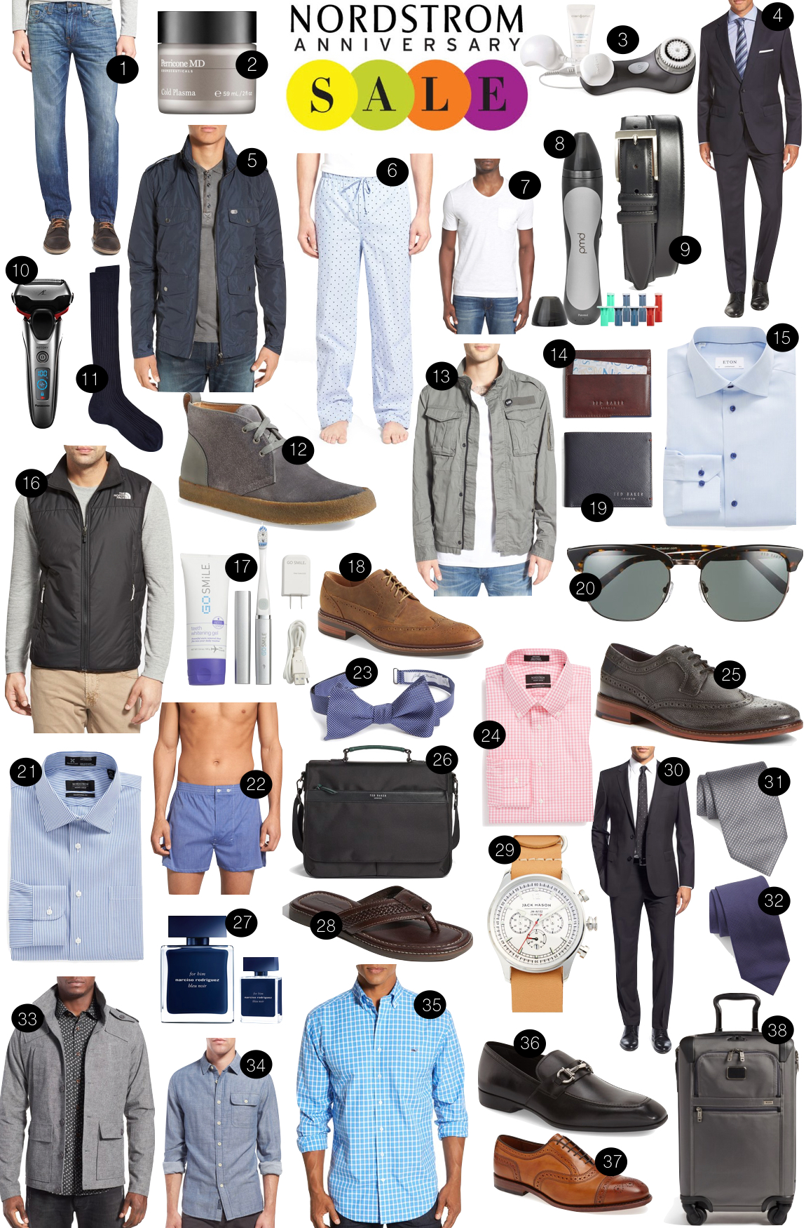 #NSale for Men |  Kiki's List