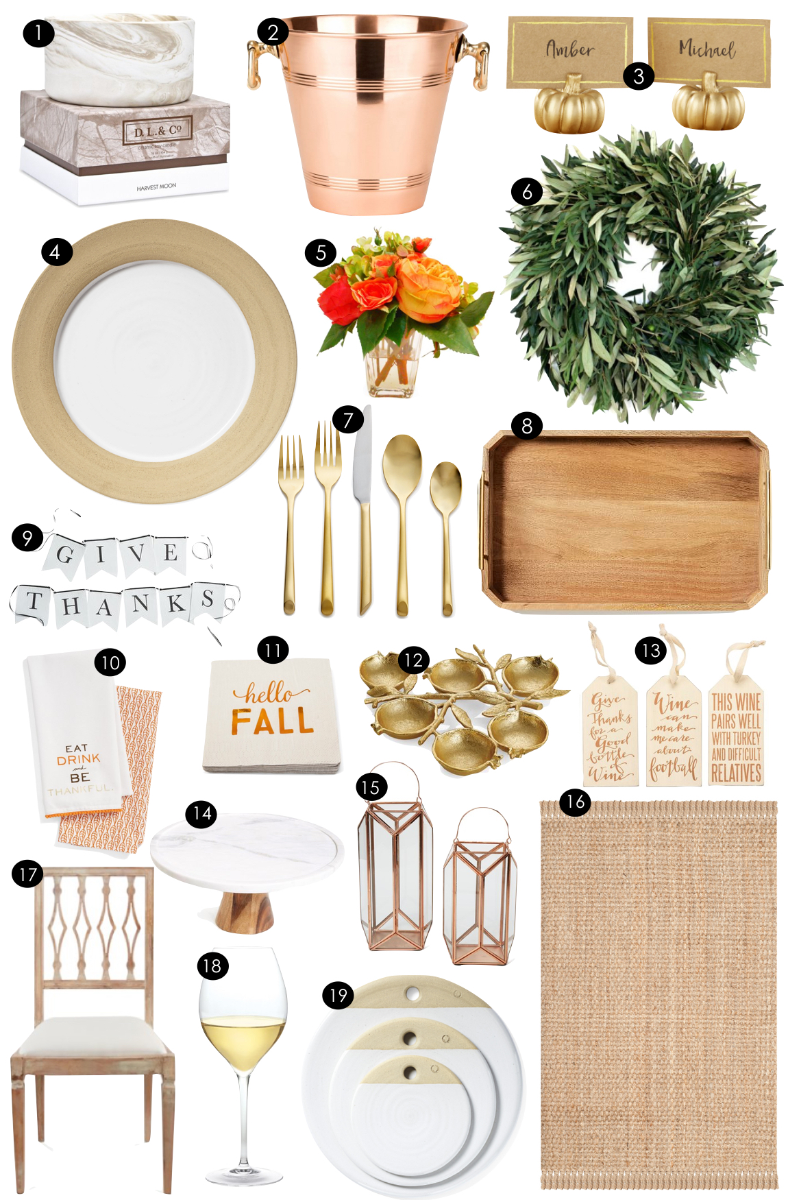 Thanksgiving Ready  |  Kiki's List