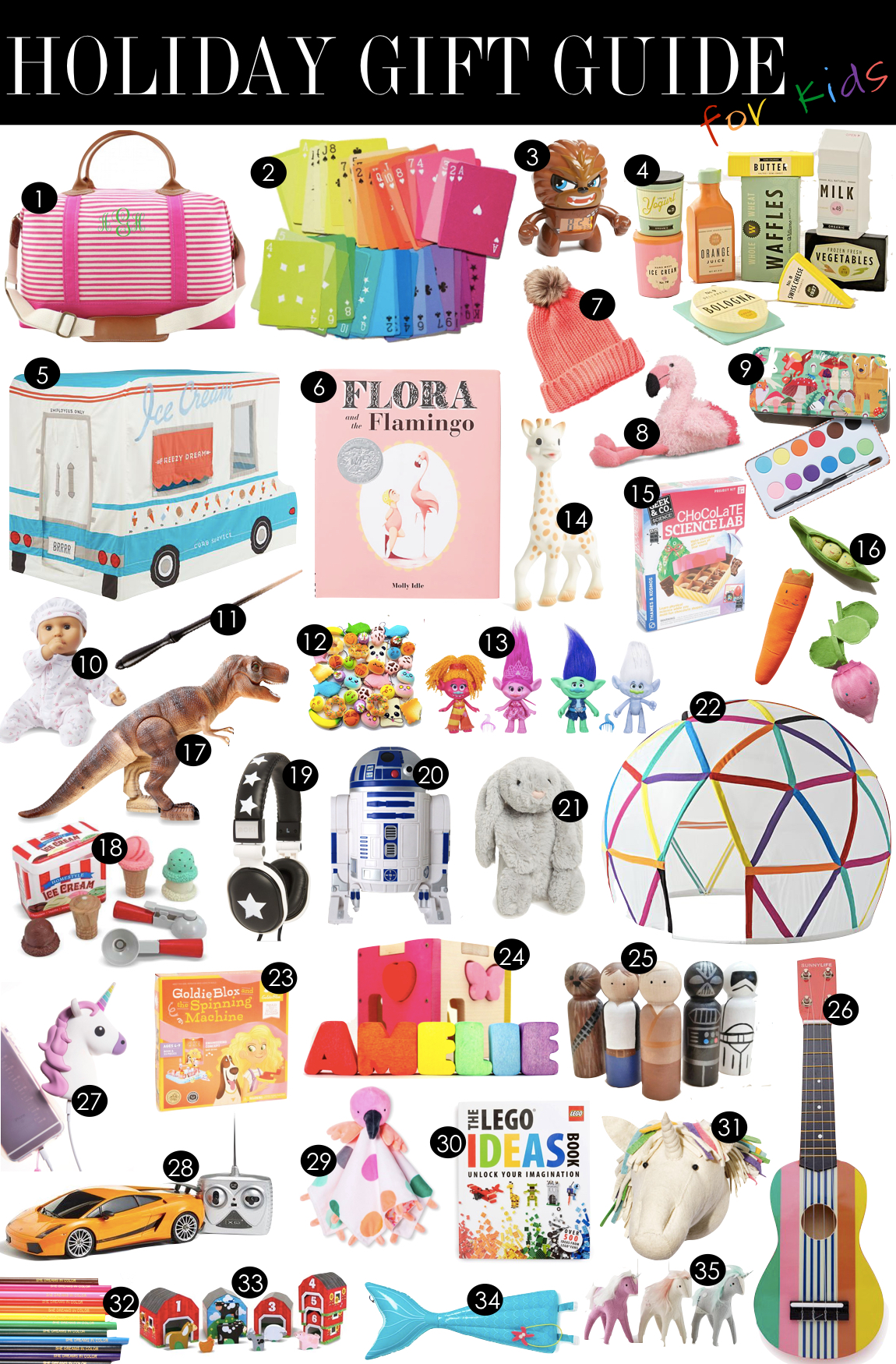 Gift Guide for Kids | Kiki's List