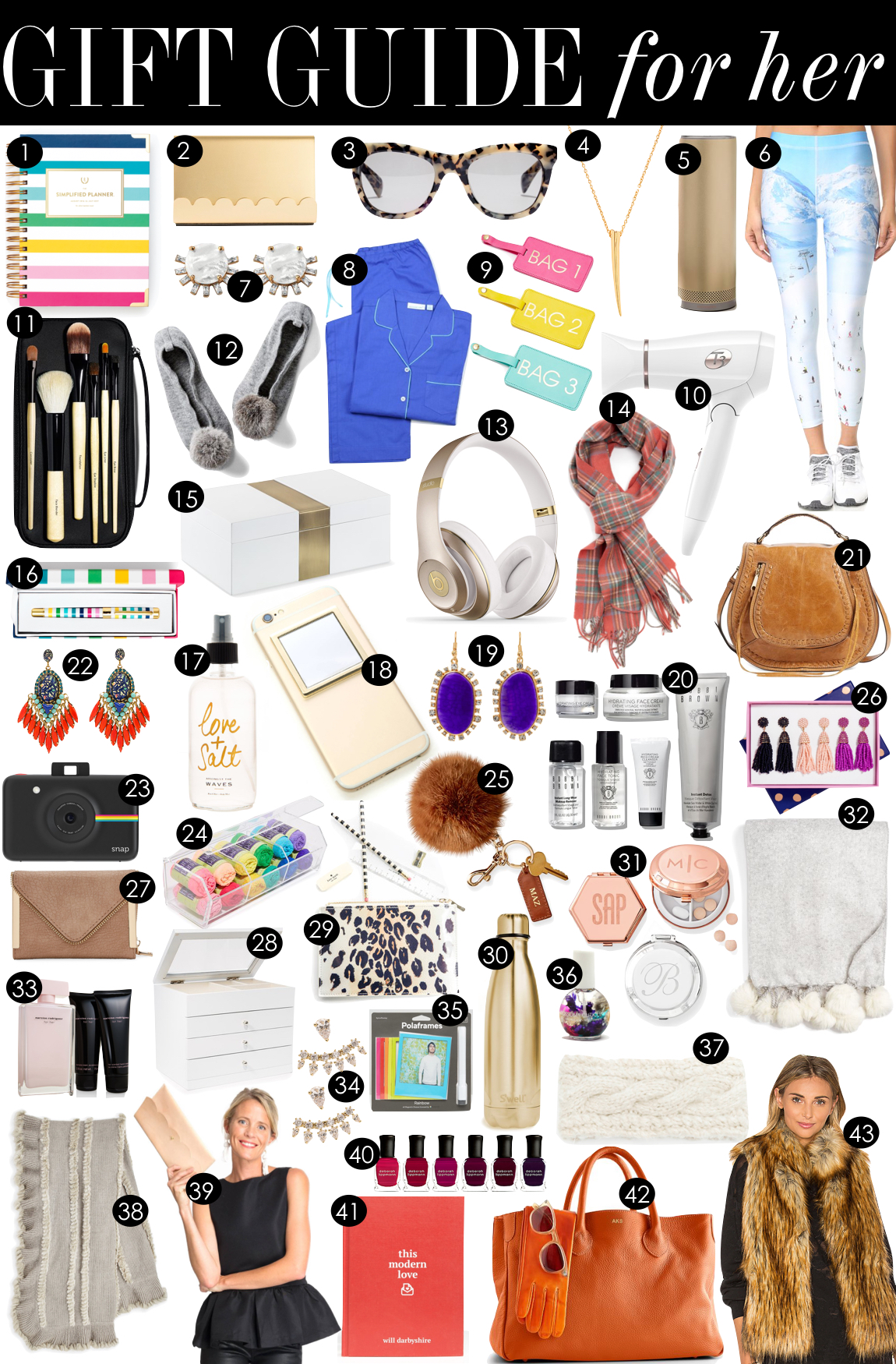 Gift Guide for Her  |  Kiki's List