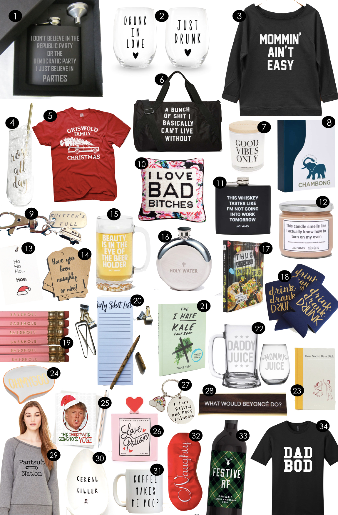 Cheeky Holiday Gifts | Kiki's List