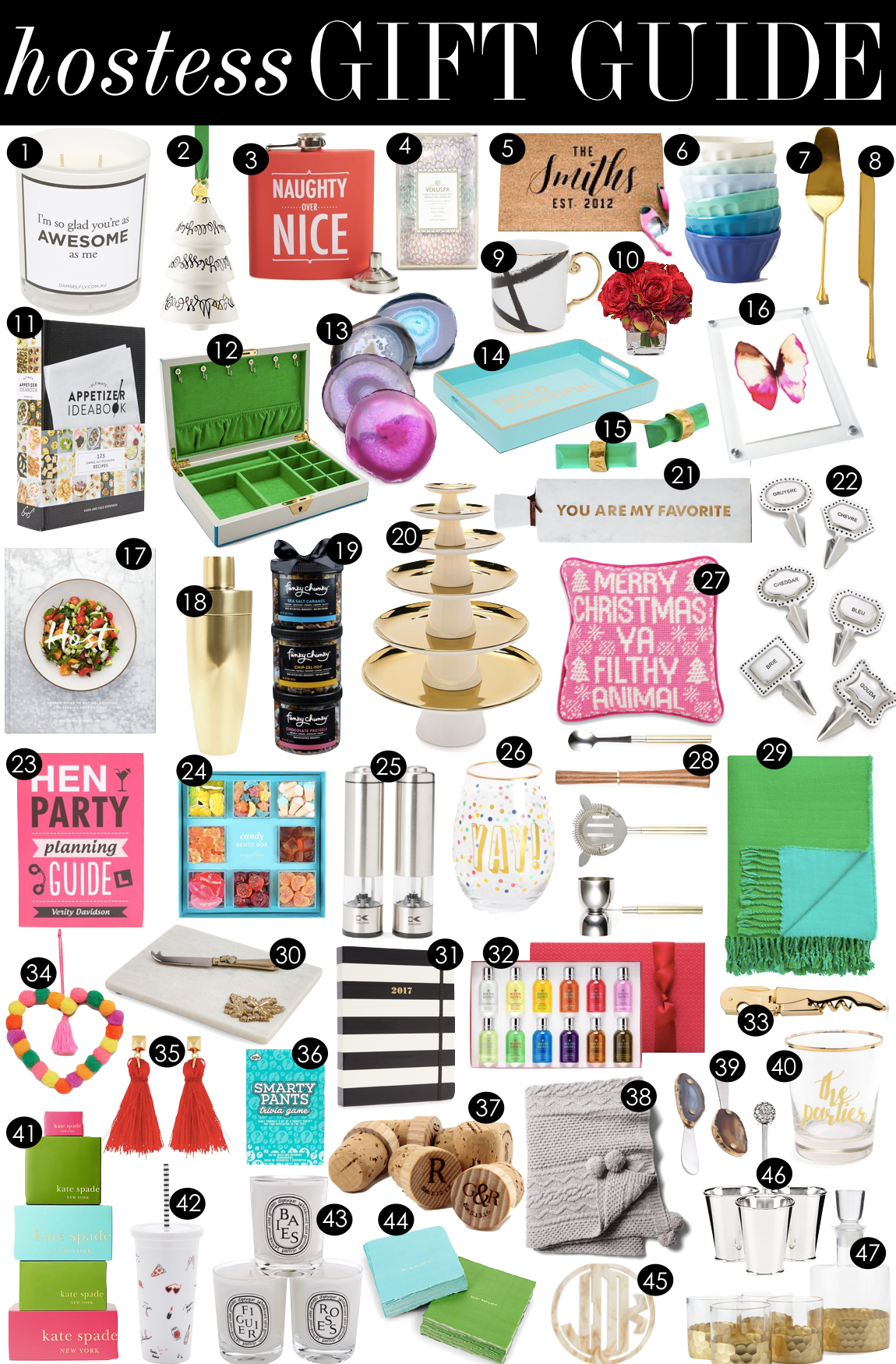 Hostess Gift Guide | Kiki's List