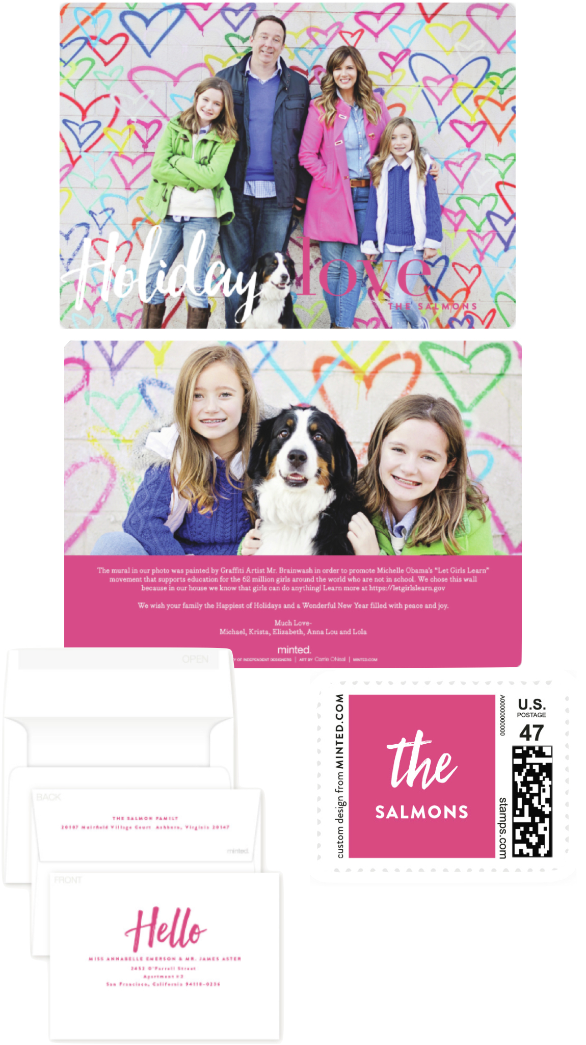 Minted Holiday Cards  |  Kiki's List