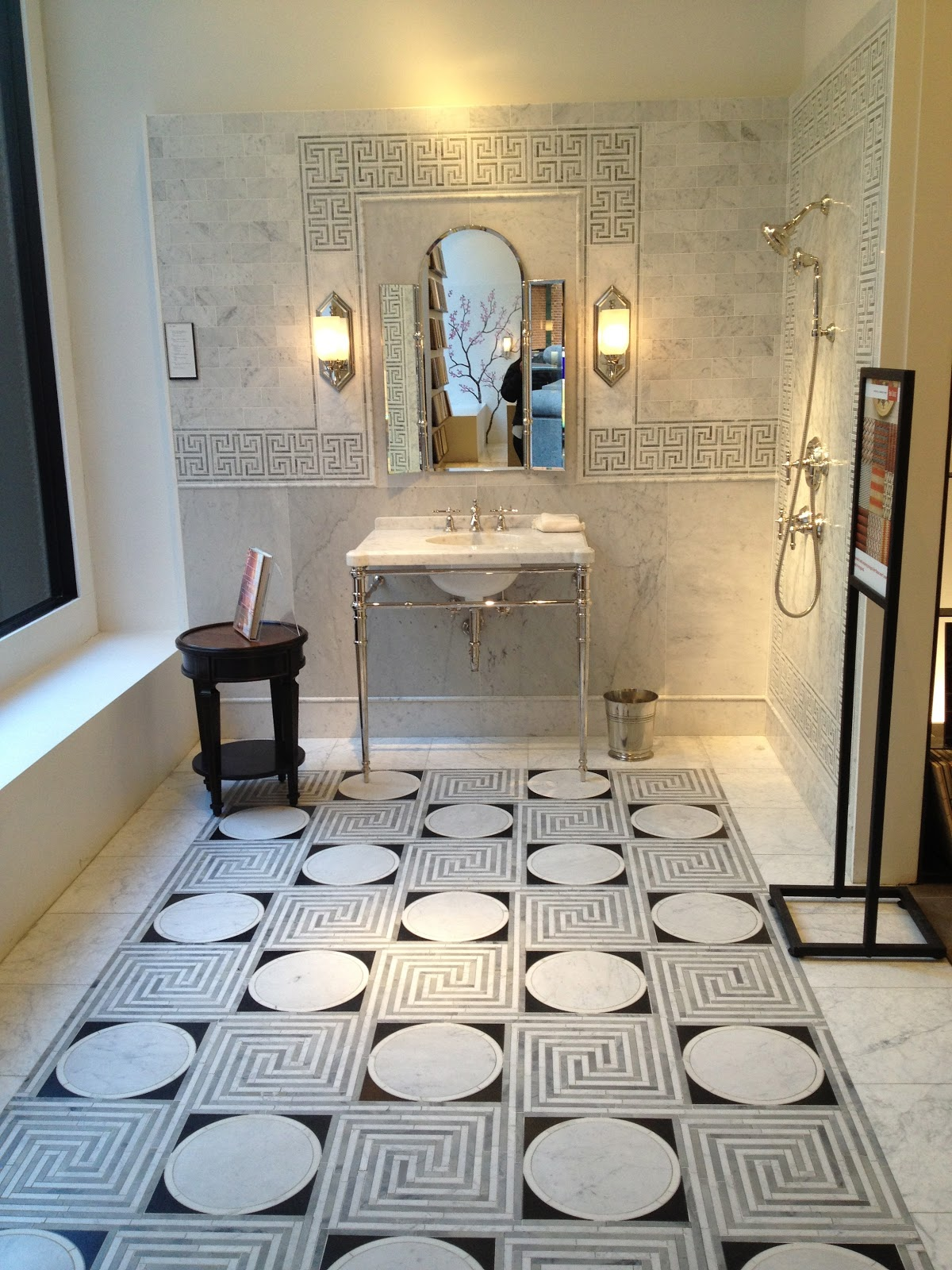 I was luckily enough to stay across the street from ann sacks nyc showroom to say that i was in tile heaven is the understatement of year