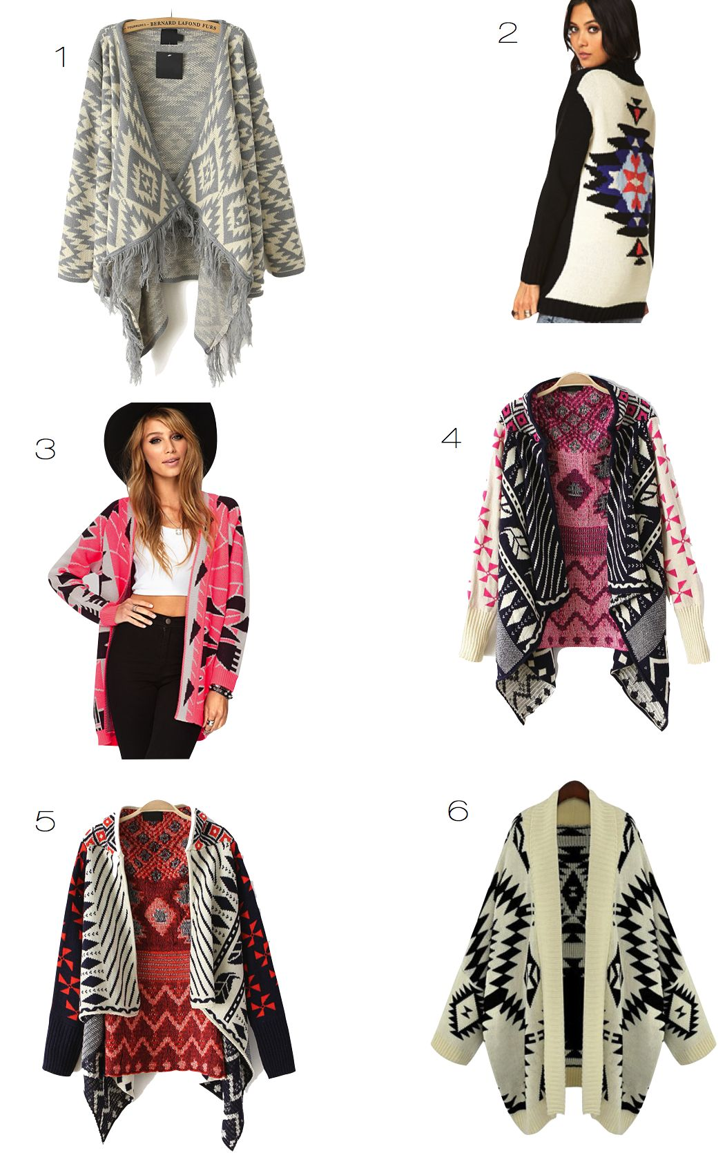 Fashion Friday The Perfect: Fashion Friday: Boho Cardigans.